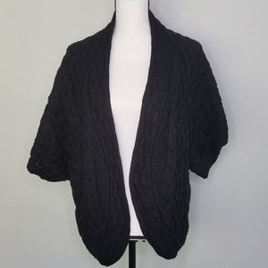 Cable Knit Cardigan sweater Coldwater Creek  XL